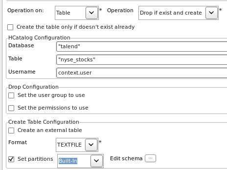 HCatalog Database