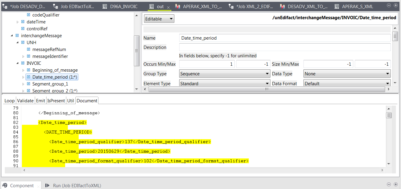 From CSV to EDIFACT with Data Mapper » Talend Community Portal